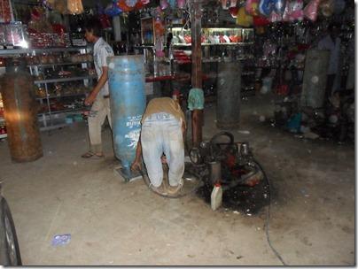 08 Cambodian petrol pump